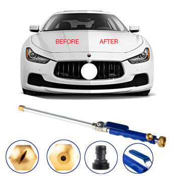 цена на High Pressure Power Water Gun Jet Car Cleaning Gun Nozzle Washing Sprayer Watering Spray Multifunction Cleaning Tool
