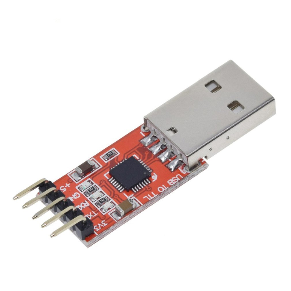USB To TTL UART 6PIN Module Serial Converter CP2102 STC PRGMR Red Update Module Converter