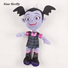 28cm Vampirina The Vamp Bat Girl Stuffed Plush Doll Toy gift for the children vampire girl(China)