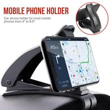 Автомобильный держатель для телефона с поворотом на 360 градусов держатель для сотового телефона подходит для смартфонов от 4 до 6,5 дюймов, вращающийся зажим для приборной панели крепление Stan