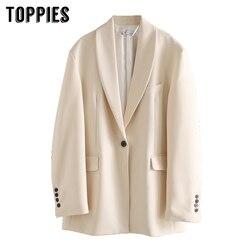 Женский блейзер, Женский деловой костюм, куртка на одной пуговице, пальто 2020, женские топы, одноцветная куртка