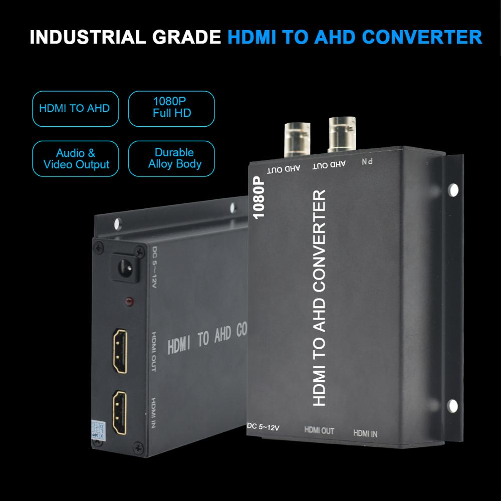 Image 5 - BNC hd Video Converter,HDMI to AHD Converter For Camera CCTV Tester Converter-in Transmission & Cables from Security & Protection
