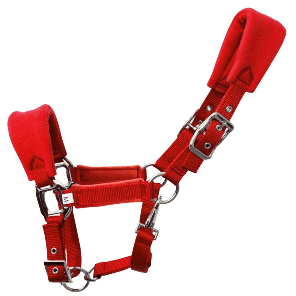 Detachable Removable Accessories Outdoor Sports Headcollar Riding Equipment Horse Halter Sponge Pad Adjustable Strap Equestrian