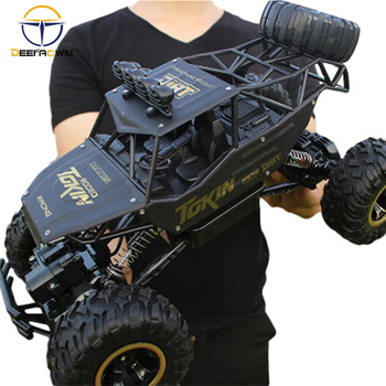 Rc car 1:12 4WD high-speed off-road remote control car 2.4hz radio-controlled car off-road truck using 30 minutes rc toys цена 2017