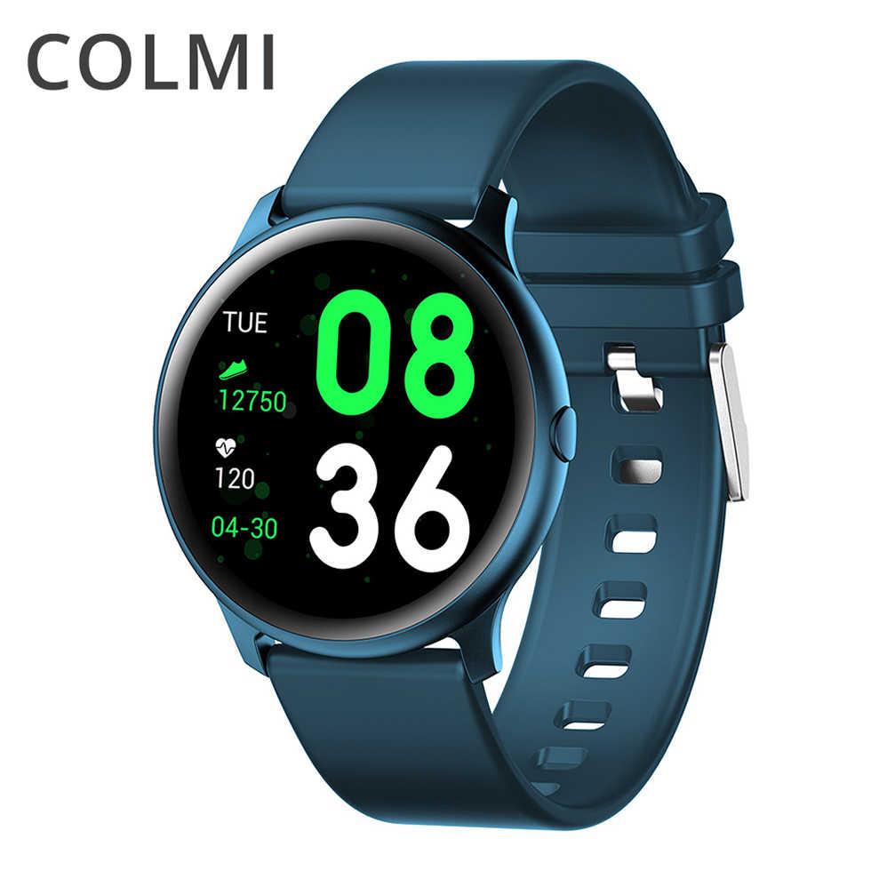 COLMI CKW19 ساعة ذكية الرجال IP67 للماء متعددة الرياضة وضع القلب معدل الطقس توقعات بلوتوث Smartwatch