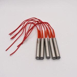 Image 3 - Freies Verschiffen 12mm Edelstahl Rohr Durchmesser Patrone Heizung 40 200mm Länge 220V Elektrische Heizung Element rohr Heizung