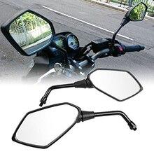 Зеркало для велосипеда пластиковое на мопеде горный велосипед зеркало заднего вида 8 мм 10 мм мотоцикл квадроцикл модифицированный зеркало ...