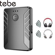 tebe Bluetooth5.0 Receiver Transmitter 3.5mm AUX Wireless Stereo Music Audio Splitter Support Handsfree For Car TV Speaker