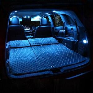 Для Honda Accord 8, 2008, 2009, 2010, 2011, 2012, 12 В, светодиодный светильник без ошибок для салона автомобиля, Купольные лампы для чтения, светильник для багаж...