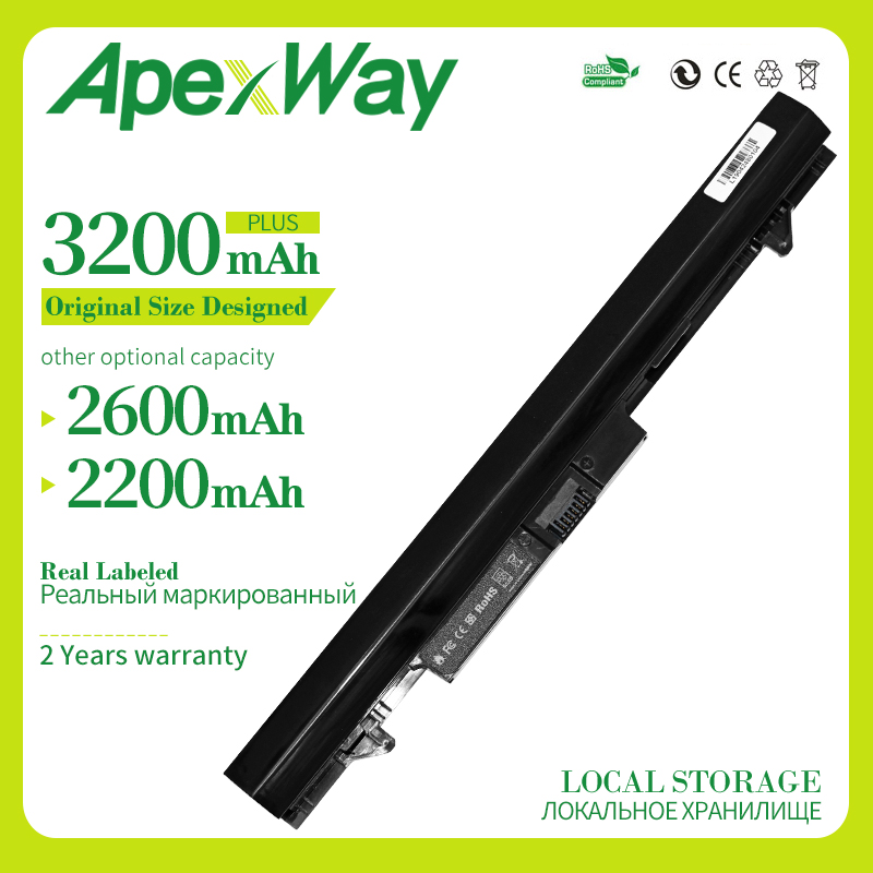 Apexway RA04 Laptop Battery For Hp Probook 430 G1 G2 HSTNN-C84C HSTNN-IB4L HSTNN-IB5X H6L28ET H6L28AA E5H00PA HSTNN-W01C