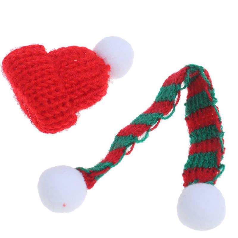 Scarf Dollhouse Accessories De LS 1//6 1//12 Dollhouse Miniature Christmas Hat