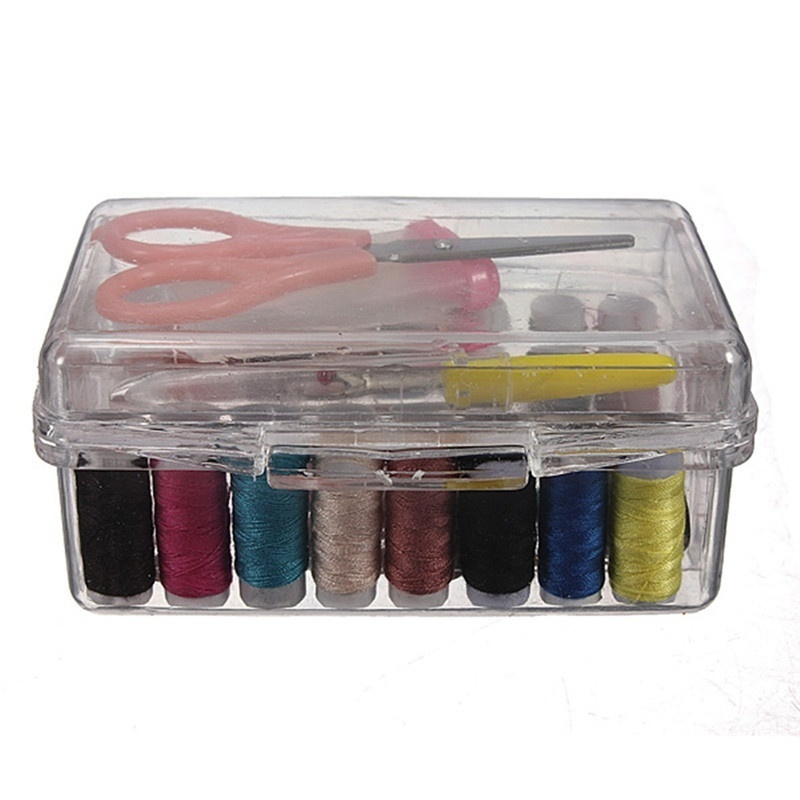 Multi-function home sewing box portable set tool kit easy to carry