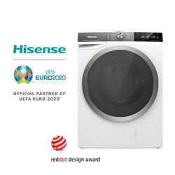 Hisense WFGS9014V стиральная машина, 64L объем барабана, 9 кг грузоподъемность, 1400 об/мин, автоматический, задержки запуска, Ecoeye
