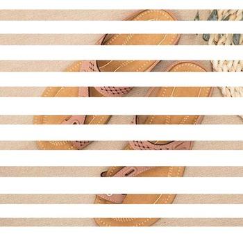 """Wygodne sandały tanie i dobre opinie UZZDSS Sztuczna skóra CN (pochodzenie) Mieszkanie (≤1cm) Na co dzień Pasek w kształcie litery """"T"""" Adult"""