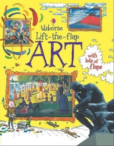 usborne elevador a aleta arte ingles imagem educacional aleta livros criancas aprendendo leitura livro montessori