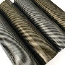 2D高光沢プレミアムカーボン繊維ビニールラップステッカーデカールdiyスタイリング自己粘着カーラッピング箔気泡