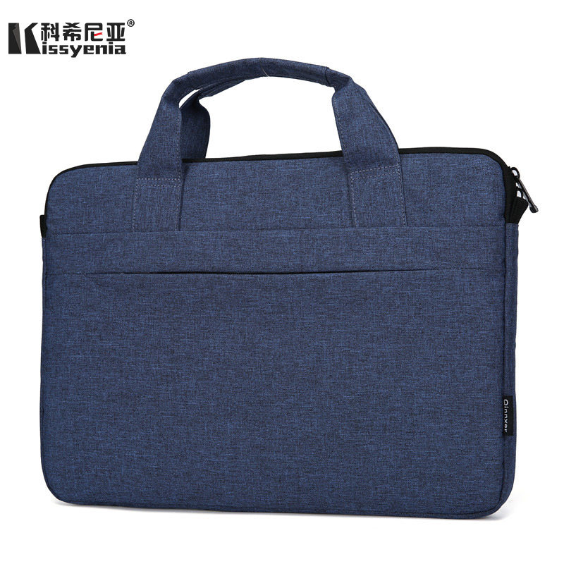 Kissyenia Fashion Slim Laptop Briefcase For Macbook Air Pro A4 Paper Travel Handbag Men Business Portable Portfolio Bags KS1011