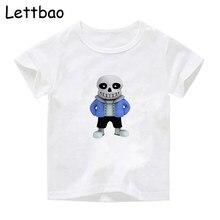 Undertale after tale Sans rétro Vintage T-Shirt style décontracté enfants à manches courtes motif mode Design T-Shirt