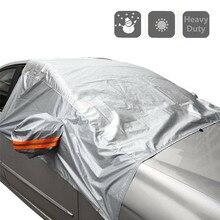Pára-brisas do carro capa pára-brisa cobre sol sombra anti neve geada gelo protetor de poeira universal inverno cobertura automóvel