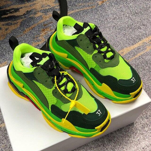 Chaussures de course pour hommes et femmes, chaussures de sport respirantes, athlétiques de marque à la mode, unisexes, couleurs mélangées, collection espadrilles décontractées