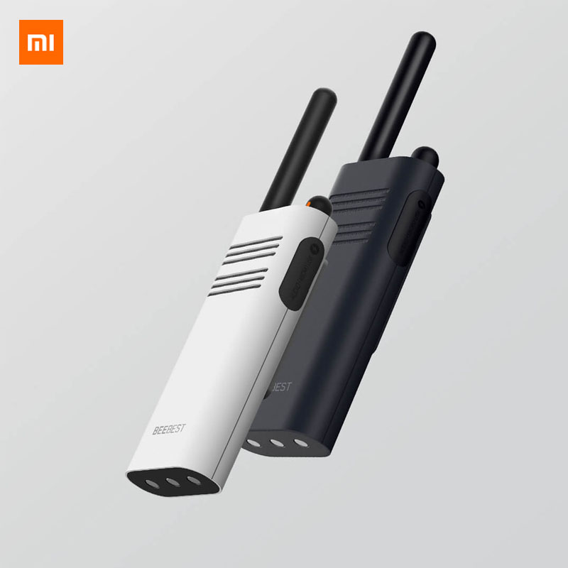 Оригинальный Xiaomi Beebest Смарт иди и болтай Walkie talkie, для детей от 1 года до 5 лет км вызова для 16ти-канального видеорегистратора анти-помех
