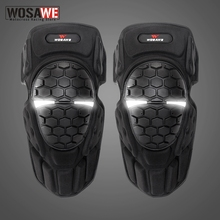 Brace Knee-Pad Riding-Knee Leg-Warmer Protection-Pads Skateboard Shin-Guard Motocross