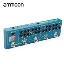 ammoon CUBE SUGAR guitar pedal Combined guitar Effects Pedal 5 Analog Effects guitar accessories guitar pedal guitar parts