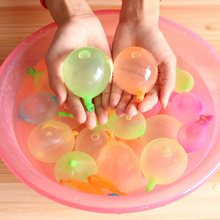 111Pcs Water Bomb Balloons  Summer Play With Water Bombs Balloon Swimming Pool Game Kids Summer Gifts Random Color