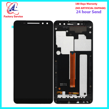 For BlackView MAX 1 LCD Screen Display+Touch Screen Digitizer Sensor Assembly Replacement  With Frame For BlackView MAX 1