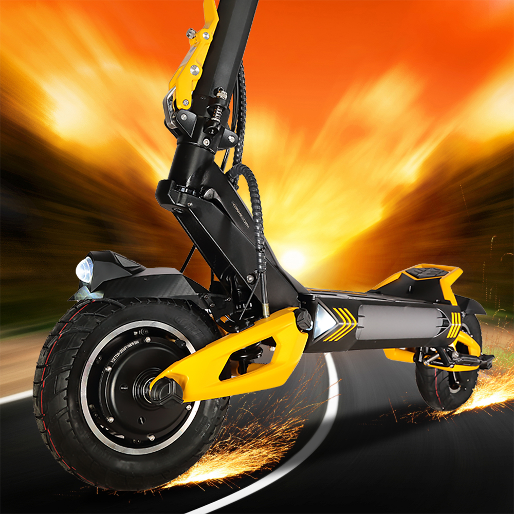 VSETT 10+ 10 Inch Off-Road Electric Scooter VSETT10+ Upgraded ZERO 10X Hoverboard Double Drive 60V 2800W Dual Motor VSSET MACURY