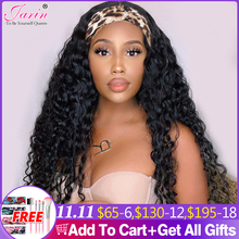 1 3 5 Pcs Headband Human Hair Wigs Deep Wave Hair Brazilian Machine Made Wig Deep Curly 8 30 inches Bulk Sale  Jarin Hair Remy