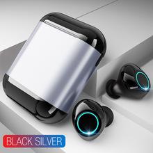 BEESCLOVER S7 TWS Earphones Wireless Bluetooth Earphones Stereo Headset with Mic And Charging Box d35