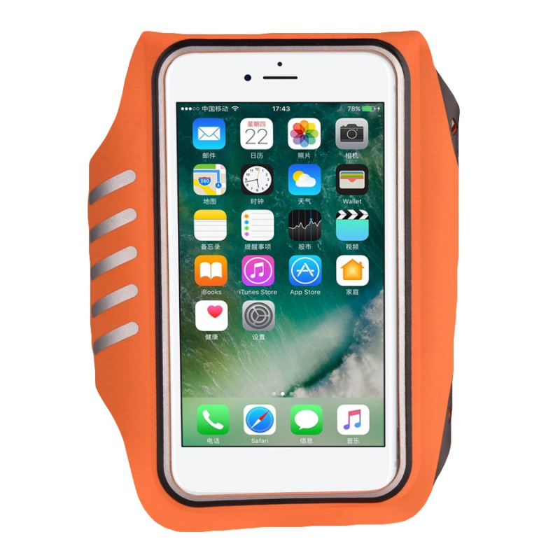 Waterproof Sports Running Armband Arm Band Phone Case Sports Armband Pouch Jogging Running Bag For:4.5-5.5\