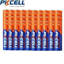 50 adet Pkcell LR6 AA piller 2A pil UM3 MN1500 E91 1.5v Aa alkalin pil kuru birincil üstün R6P 2A Batteria