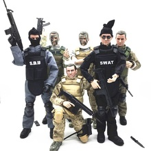 1/6 Forces Figure Model Military Army Combat Swat Police Soldier ACU Ac