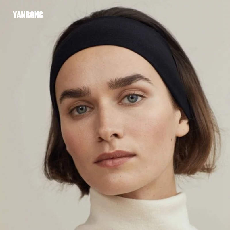 10 Colors Elastic Sports Headband Yoga Street Dance Rapper Hair Band Bezel Accessory Two Materials Fashion Man And Girl Turban