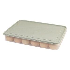 Контейнер для яиц 24 для хранения яиц в холодильнике контейнер с крышкой пластиковый портативный чехол для яиц для защиты и сохранения свежести Штабелируемый большой, например