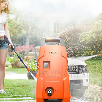 Fully Automatic High Pressure Washer Home High-pressure Car Washer  Washing Machine Portable Car Wash Pump Garden Cleaning Tool household 220v portable 280 high pressure cleaner high pressure washing machine car wash device car wash pump car wash