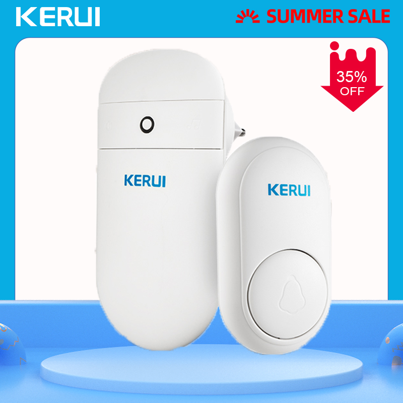 KERUI self generation M518 Long Distance Wireless Smart Electronic <font><b>Remote</b></font> Control Door bell Home No Battery Cordless <font><b>Doorbell</b></font> image