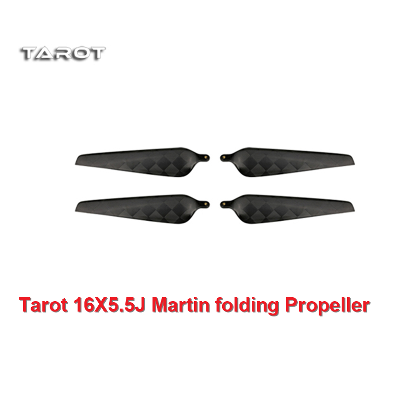 Tarot 16X5.5J Martin folding Propeller CW/CCW TL3030 carbon fiber paddle for Multicopter rc plane accessories