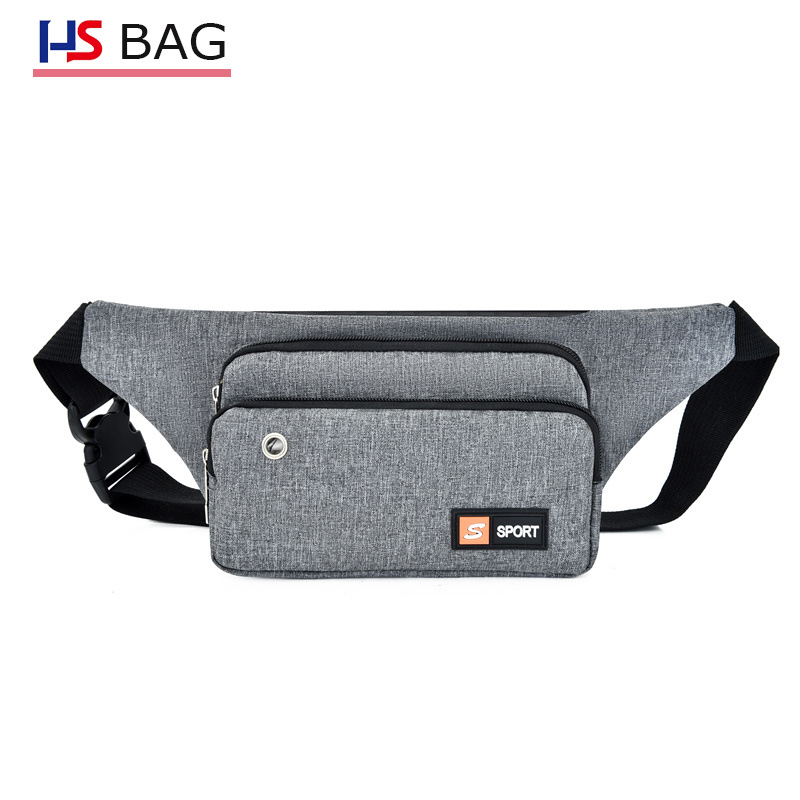 New Style Oxford Cloth Chest Pack Unisex Korean-style Multilayer Large-Volume Cash Storage Bag Waterproof With Headphone Jack Ch