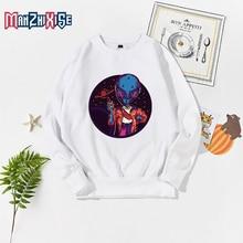 Children's Hoodies Sweatshirts Girls Kids White Pullover Tops For Boy Autumn Clothes Cartoon Alien Printing Long Sleeve Clothing все цены