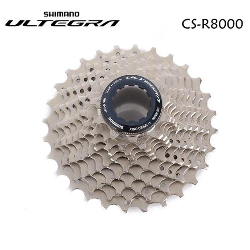 Shimano Ultegra R8000 11 vitesses vélo de route Cassette CS-R8000 11-25t 11-28t 11-30t 11-32t 11-34t 12-25t