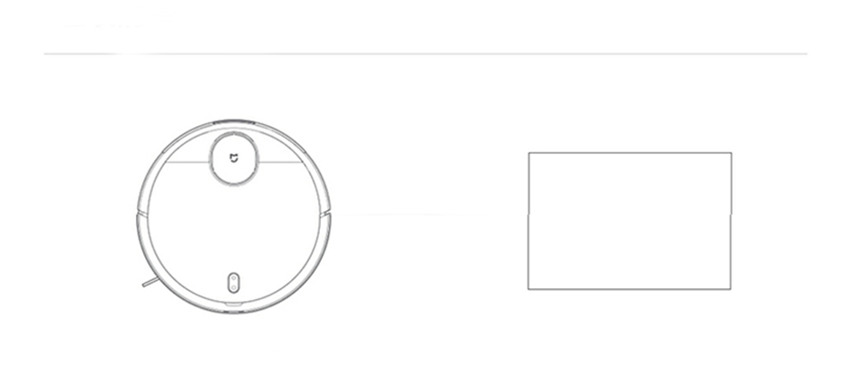 Hda8d6b240ae24efd8a35a0349b4f41eed Present Gift Xiaomi Mijia STYJ02YM V2 pro mi robot Vacuum Cleaner 2 mop-p sweep mop suction 2 in 1 wifi EU Russia warehouse