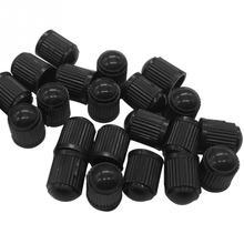 20шт автомобильные шины клапан пылезащитные колпачки купольная форма пылезащитный клапан черные велосипедные шины пластиковые колпачки Прямая поставка