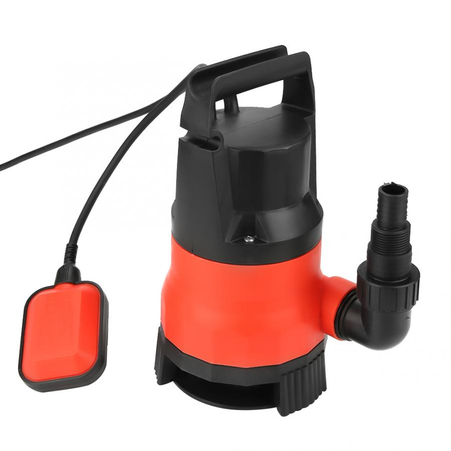 bomba agua Heave Duty 400W Electric Submersible <font><b>Pump</b></font> for Clean Dirty Flood <font><b>Water</b></font> US Plug <font><b>110V</b></font> su pompa image