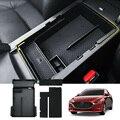 Автомобильный Центральный внутренний ящик для хранения Контейнер органайзер для Mazda 3 Axel 2019 2020 ABS пластик