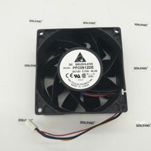 Для IP68 водонепроницаемый вентилятор охлаждения для delta PFC0912DE 9238 12 В 3.72A 200CFM 8100 об/мин Мощный вентилятор