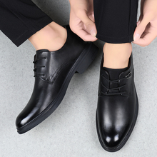 Fashion Men Formal Shoes Size37-46 Black Brown Classic Point Toe Dress Business Party Mens Casual Leather shoes *8912