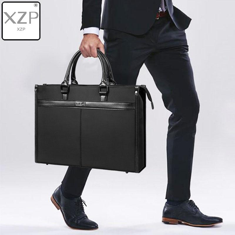 XZP Brand Waterproof Men Women 14 15.6 Inch Laptop Briefcase Business Handbag For Men Large Capacity Messenger Shoulder Bag